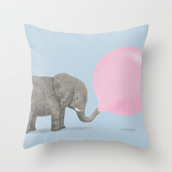 Jumbo Bubble II Throw Pillow