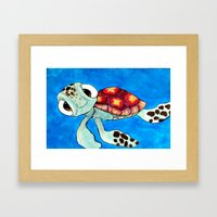 Squirt From Finding Nemo Framed Art Print