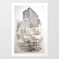 From The Ground Up Art Print