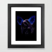Chihuahua girl Framed Art Print