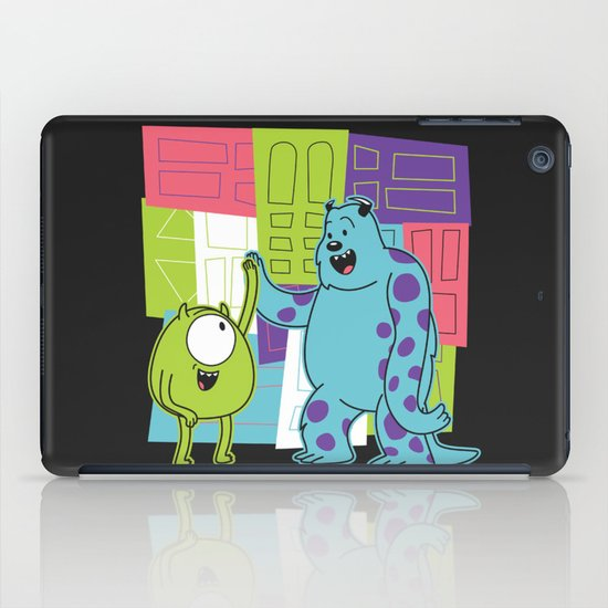 Monster Time iPad Case