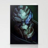 Mass Effect: Garrus Vakarian Stationery Cards