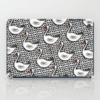 Graphic Swan iPad Case