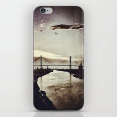 Moon River and Me iPhone & iPod Skin