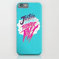 Justice Like A Thunderbolt iPhone 6 Slim Case