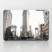 Desaturated New York iPad Case