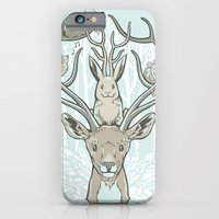 iPhone & iPod Case featuring Friends & Birds by jewelwing