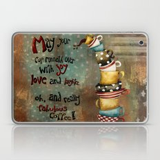 May Your Cup Runneth Over Laptop & iPad Skin