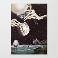 Cosmic Dead Canvas Print