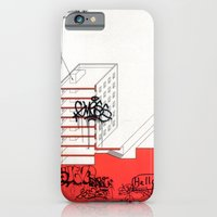 iPhone Cases featuring AutoCUNT 09 by John Szot Studio