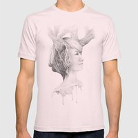 Sweet memories Mens Fitted Tee Light Pink SMALL
