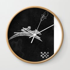Horse Flag Wall Clock