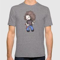 Plushio Sanchez Mens Fitted Tee Tri-Grey SMALL
