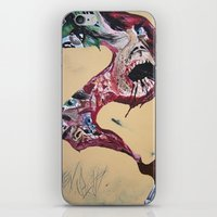 Brushstroke iPhone & iPod Skin