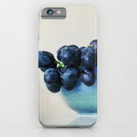 iPhone & iPod Case featuring Grapes by Around the Island (Robin Epstein)