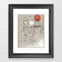 Procrastinate Framed Art Print