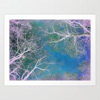 The Fairy Forest  Art Print