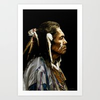 Native American - Dakota Art Print