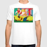 Deciding Game. Mens Fitted Tee White SMALL