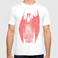 vampire bat Mens Fitted Tee White SMALL