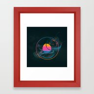 ESTES PARK (09.07.15) Framed Art Print
