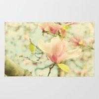 Spring Magnolias Rug