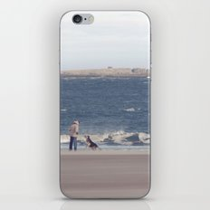 fishing with dogs... iPhone & iPod Skin
