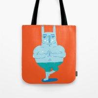 Zen Rabbit Tote Bag