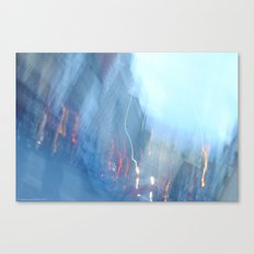 It all comes crashing down. Canvas Print