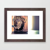 Cafe Con Abuelita Framed Art Print