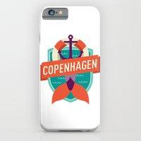 iPhone & iPod Case featuring Copenhagen by Fedi