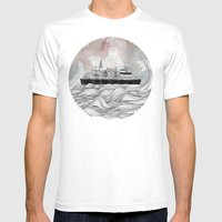 Almost Home Mens Fitted Tee White SMALL