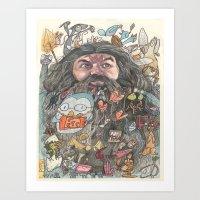 Hagrid's Beard Art Print