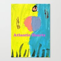 Atlantic Hearts Canvas Print
