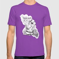 One Hot Muffin!  Mens Fitted Tee Ultraviolet SMALL