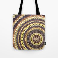 Tote Bag featuring Mandala 139 by Patterns Of Life