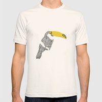 Figure N.2 Mens Fitted Tee Natural SMALL
