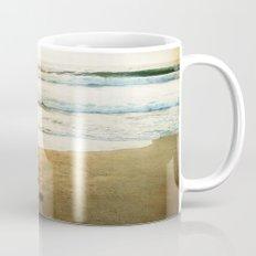 Tracks Into the Sea Mug