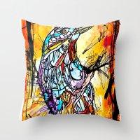 The Beautiful Bird Is Th… Throw Pillow
