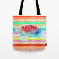 Turtle  By Jacqueline Ma… Tote Bag