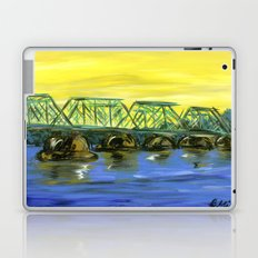New Hope-Lambertville Bridge Laptop & iPad Skin