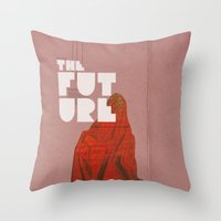 The Future A Time To Rem… Throw Pillow