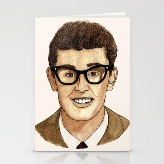 Buddy Holly Stationery Card