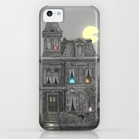 iPhone 5c Cases featuring Haunted by the 80's by Terry Fan