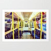 Empty Tube- Northern Lin… Art Print