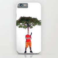 Warrior tree iPhone 6 Slim Case