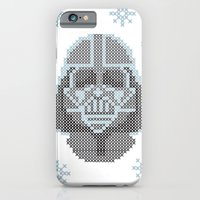 iPhone & iPod Case featuring Merry Darth Vaderness   by Natalia Ogneva