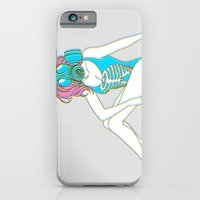 The Last Girl in the World ( Gas Mask Pin-up ) iPhone 6 Slim Case