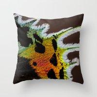 Wing Of A Madagascan Sun… Throw Pillow