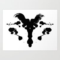 Rorschach Test Art Print